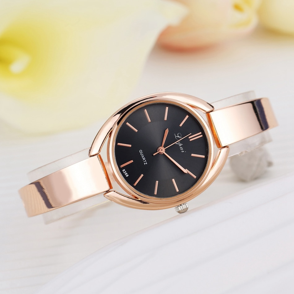 Relojes de mujer, oro rosa, zegarek damski, reloj de moda para mujer, relojes de pulsera impermeables, reloj de mujer, regalo, reloj femenino