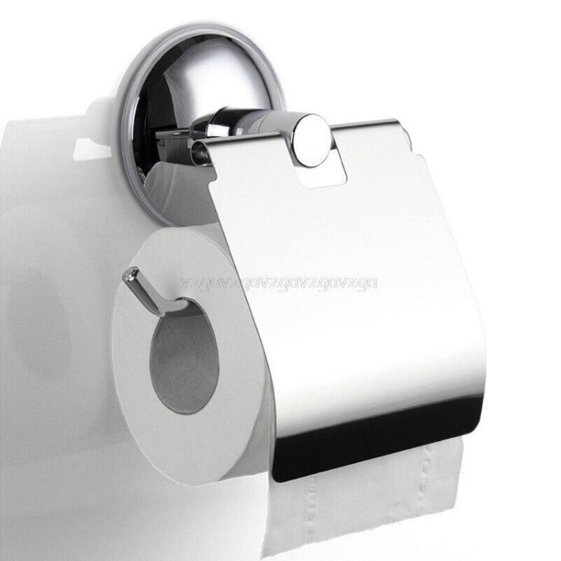 Portarrollos de papel higiénico de baño, ventosa al vacío, de acero inoxidable, montaje en pared J16 19, triangulación de envíos