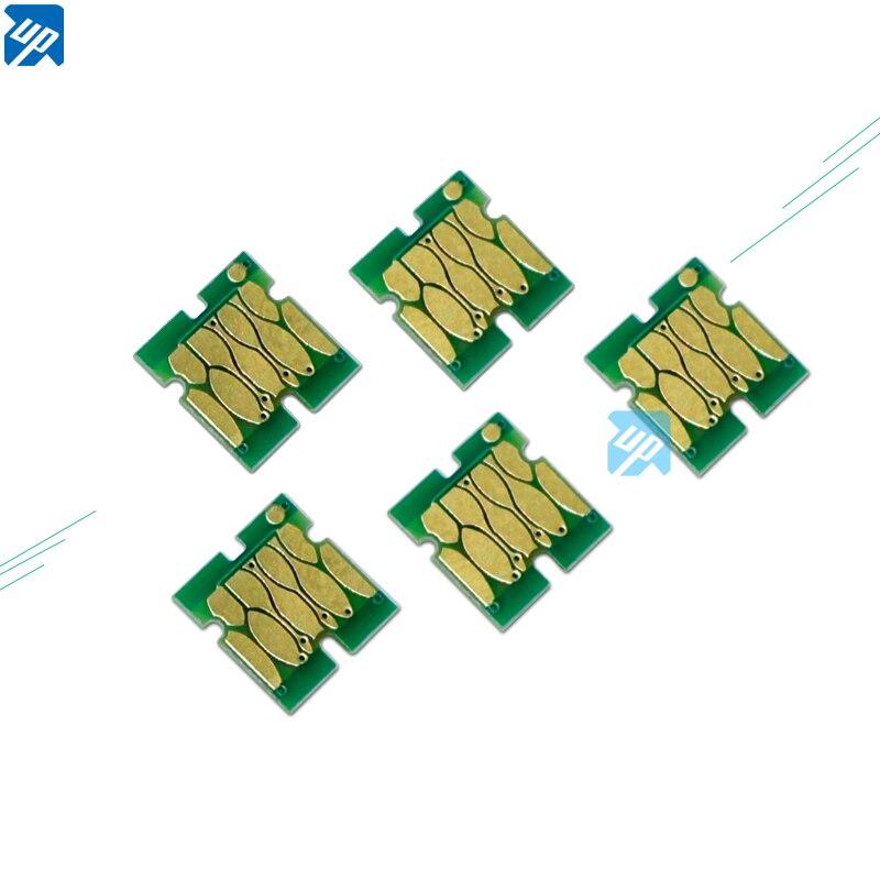 5 uds mantenimiento tanque residuos tanque de tinta chips para Epson T3000 T5000 T7000 T3200 T3070 T5070 T7070 T3270 T5270 T7270 una vez chip