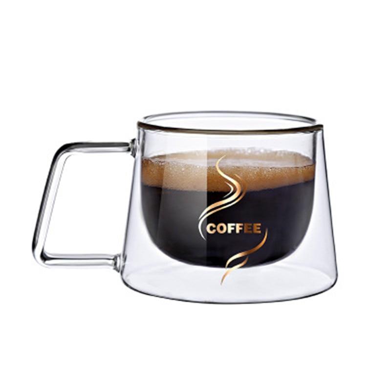 2019 Fashion High Quality Double Wall Mug Office Mugs Heat Insulation Double Coffee Mug Coffee Cup Drinkware