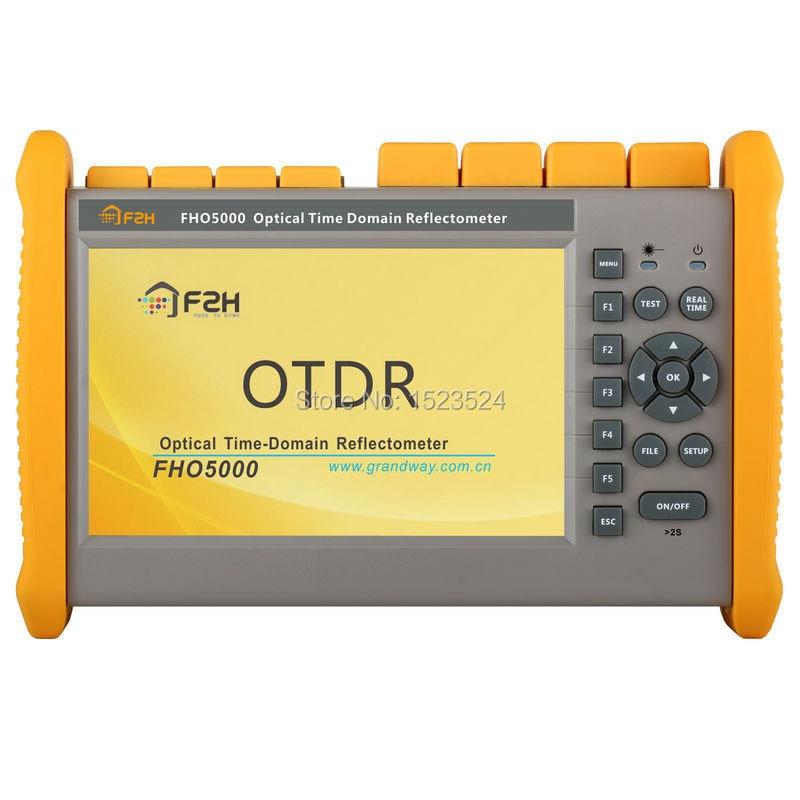 Reflectómetro de fibra óptica OTDR Grandway FHO5000-D26 26/24dB SM 1310/1550nm con luz roja incorporada VFL