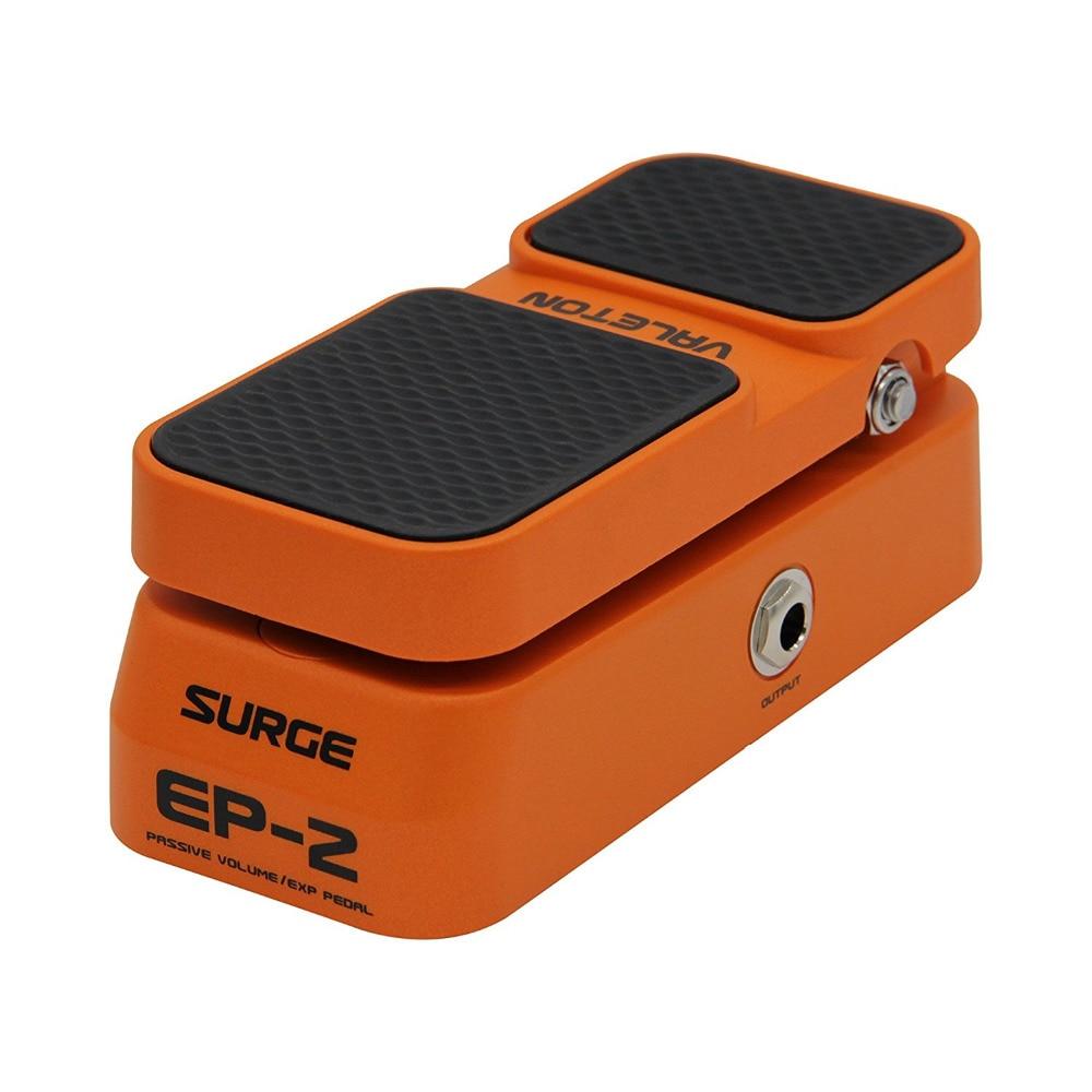 Valeton 2 в 1 Функция пассивный громкость выражение Гитарные эффекты педаль 2 Производительность ножной переключатель LED свет показывает EP-2