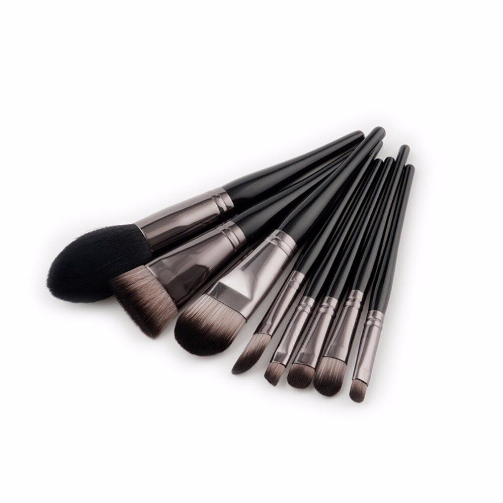 ¡Nuevo! brochas de maquillaje para maquillaje 8 uds, brochas de maquillaje profesionales para base, brocha para la nariz