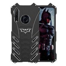 Boîtier en métal de luxe Batman en aluminium pour Honor 20i Coque mince rigide antichoc Coque arrière pour Huawei Honor 20 Lite 20i 10i