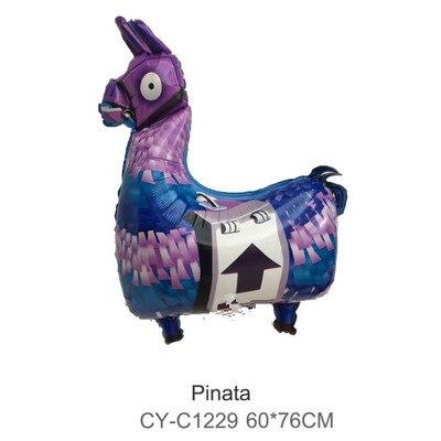 Juego de Globos de aluminio con diseño de Animal de Alpaca de 76*60cm, Globos de decoración para Baby Shower o fiesta de cumpleaños
