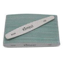 Kimcci 25 pcs/Lot offre spéciale Top qualité limes à ongles manucure outils Set blocs de ponçage mince tampon bord 150 Nail Art Salon fournitures