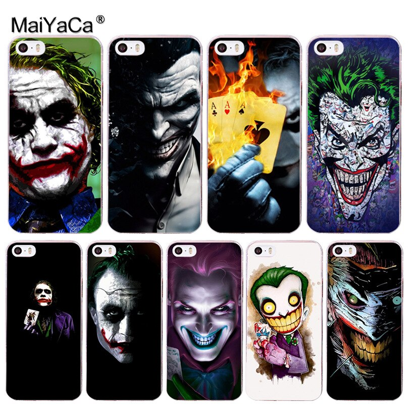 MaiYaCa poker joker Новинка Fundas чехол для телефона iphone 11 Pro 8 7 6 6S Plus X 5 5S SE чехол XS XR XSMAX