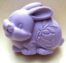 Moules à savon en Silicone lapin mignon tuzi   Artisanat dart, bricolage moules à savon faits main
