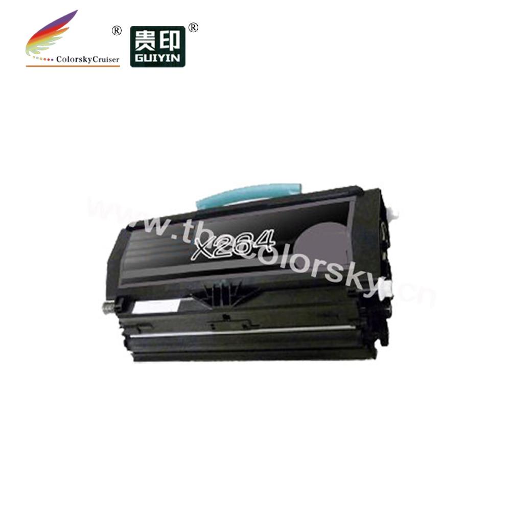 (CS-LX264) BK toner laserjet printer laser cartridge for Lexmark X264A21G X264H21G X264dn X363dn X364dn X364dw (3,500 pages)