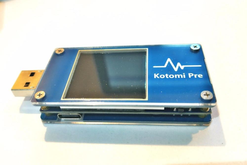USB измеритель напряжения Kotomi Premium, настольный триггеры QC/PD, измеритель напряжения
