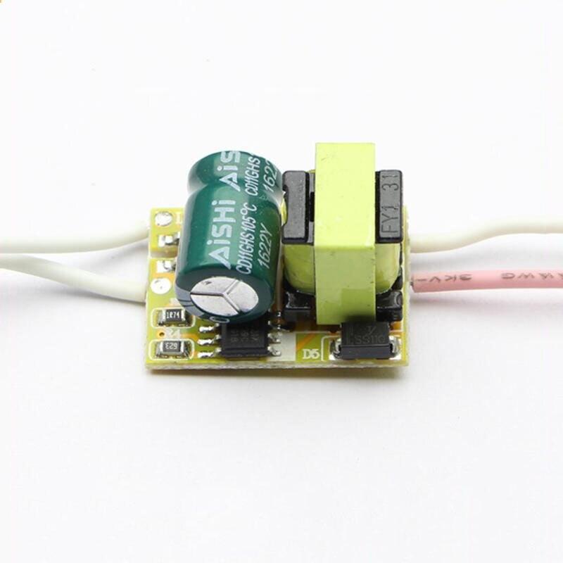 Ledドライバ高電圧110ボルト220ボルト1 × 3ワット定電流e27内蔵ドライブ電源ic用電球× 50