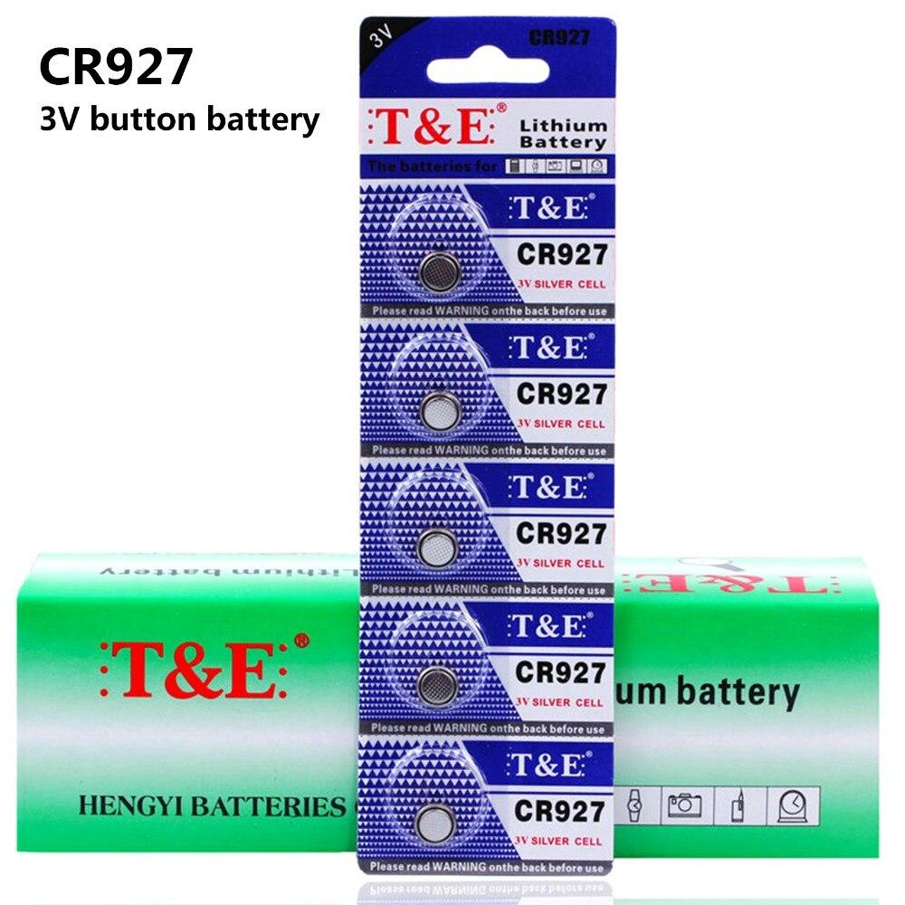 Pack de 3/15 piezas 3 V CR927 de la batería de litio Cr 927 Dl927 Ecr927 5011l Br927 Lm927 5011lc Kcr927 reloj pilas de botón