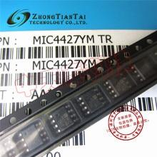 Free shipping new original MIC4427YM TR MIC4427 SOP-8 JFET 100% authentic