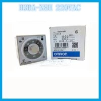 h3ba n8h ac220v omron relay electronic omron timer multifunzione tempo time1 2s to 300h 5060 hz component time relay