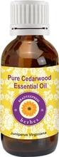 FRee Shipping Pure Cedarwood Essential Oil Juniperus virginiana 100% Natural Therapeutic Grade 5ML
