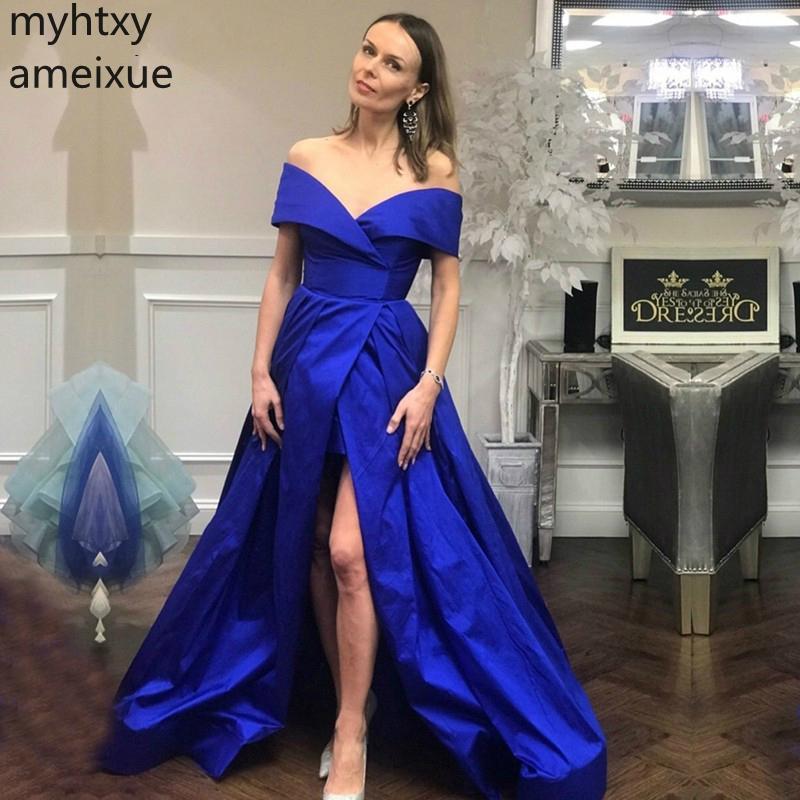 Вечерние Платья Синего Цвета