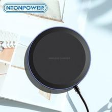 Chargeur sans fil NTONPOWER Qi pour iPhone X Xs MAX XR 8 plus charge rapide pour Samsung S8 S9 Plus Note 9 8 chargeur de téléphone USB