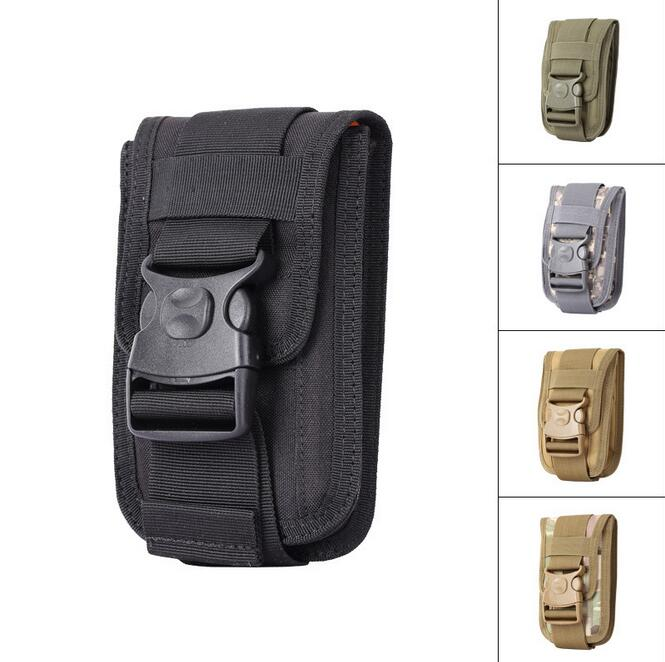 Universal táctico militar funda de cinturón de cadera bolsa de cintura teléfono caso para ASUS ZenFone 4 Max HD ZB500TL Bluboo S1 teléfono bolsas de deporte