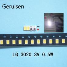 100PCS/Lot Maintenance LED LCD TV TV notebook touch screen backlight lights lamp beads LG 3020 light source SMTPHYR30A638P