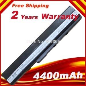 5200mah Battery for ASUS K52 K52D K52DE K52DR K52F K52J K52JB A31-K52 A32-K52
