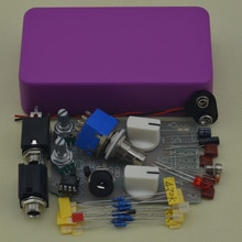 DIY Compressor effect pedal guitar stomp pedals Kit PR