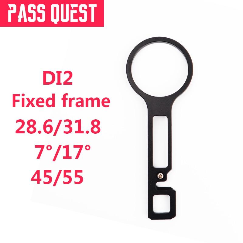 DI2 soporte de controlador 7/17 grados 28,6/31,8mm Tubo de horquilla útil peso ligero adecuado para tallos de 90-130mm envío gratis