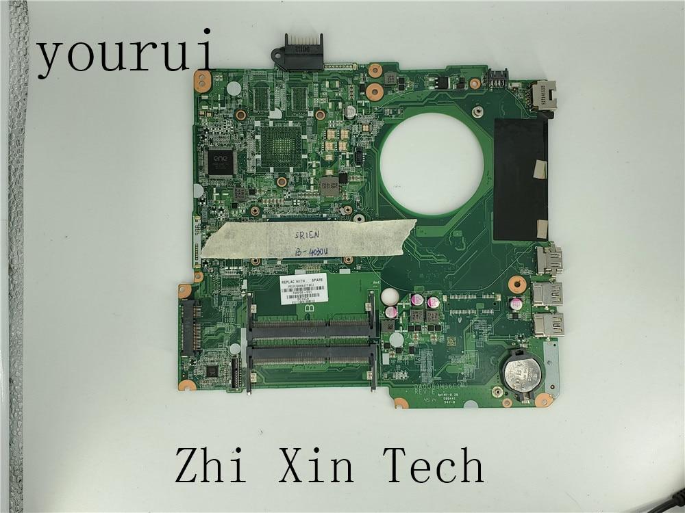 Yourui 732086-501 732086-001 732086-601 ل HP جناح 15-N 15-F سلسلة اللوحة المحمول DA0U83MB6E0 مع i5-4200u وحدة المعالجة المركزية