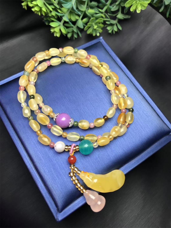 Koraba, joyería fina, colgante Natural de cera de miel con Mica púrpura Natural, piedra amazónica, pulsera de piedra de uva lapislázuli