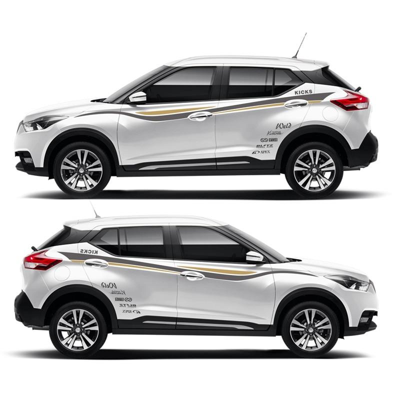 Taiyao estilo do carro esporte adesivo de carro para nissan kicks esporte mark levinson acessórios do carro e decalques auto adesivo