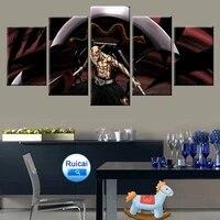 Affiche murale de mort modulaire  5 pieces  impression HD  Art deco  decor de maison  chambre de garcon