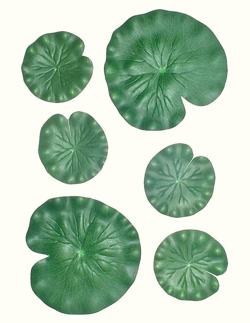 Espuma flotante Artificial EVA para acuario, follaje flotante de hoja de loto, piscina de decoración, estanque de peces, hojas para el hogar, decoración del jardín