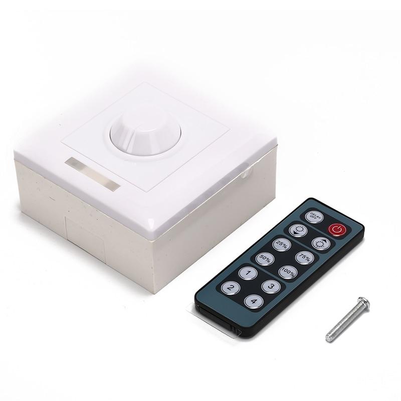Licht IR12 Dimmer LED Dimmer IR Knob Fernbedienung Schalter Für Dimmbare Led-lampe Oder LED Streifen Led Downlight Panel