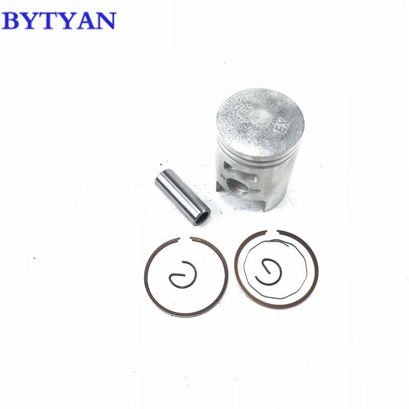 Envío Gratis accesorios modificados para motocicleta conjunto de pistones y anillos de 41mm para honda ZX 50cc zx 34 tiempos scooter dio 35 pistone