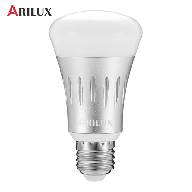 ARILUX E27 7 Watt Led-lampe 22 Leds Lampe RGB + weiß Dimmbare WIFI Smart Licht Blub Arbeitet AC85-265V Innenbeleuchtung atmosphäre