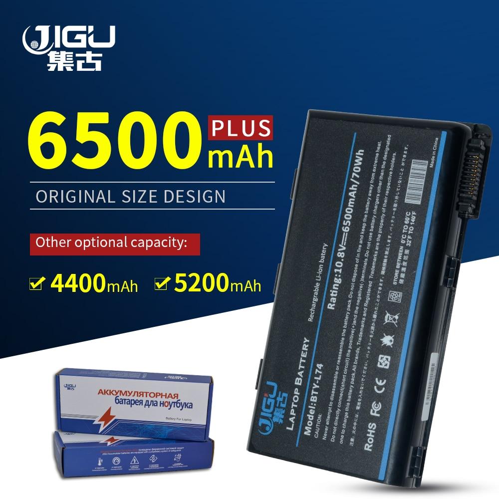 JIGU batería para portátil Msi CX620 3D CX620MX CX620X CX623 CX623X CX630 CX700 CX700X CX705 CX705X CX720 GE700 BTY-L74 BTY-L75
