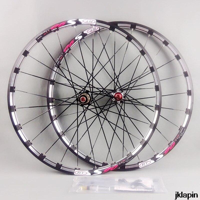 MTB bicicleta de montaña fresadora RT delantera 2 trasera 5 cojinete Japón cubo súper lisas ruedas llantas
