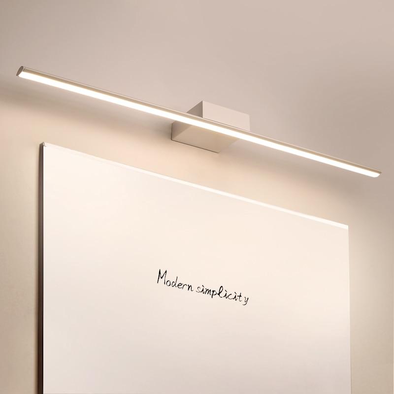 NEO Gleam Black/White 0.4-1.2M Modern Mirror Lights Anti-fog LED Bathroom lights dressing table/toilet/bathroom mirror lamp
