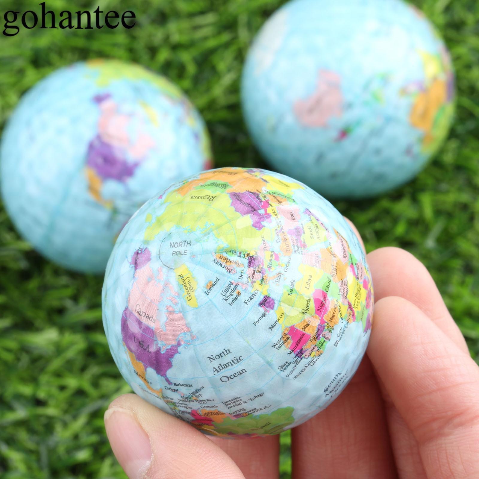Мячи для гольфа gohantee 3 шт./лот шары с картой цвета мячи для игры в гольф сурлин тренировочные мячи для гольфа диаметр 42,7 мм подарочные мячи дл...
