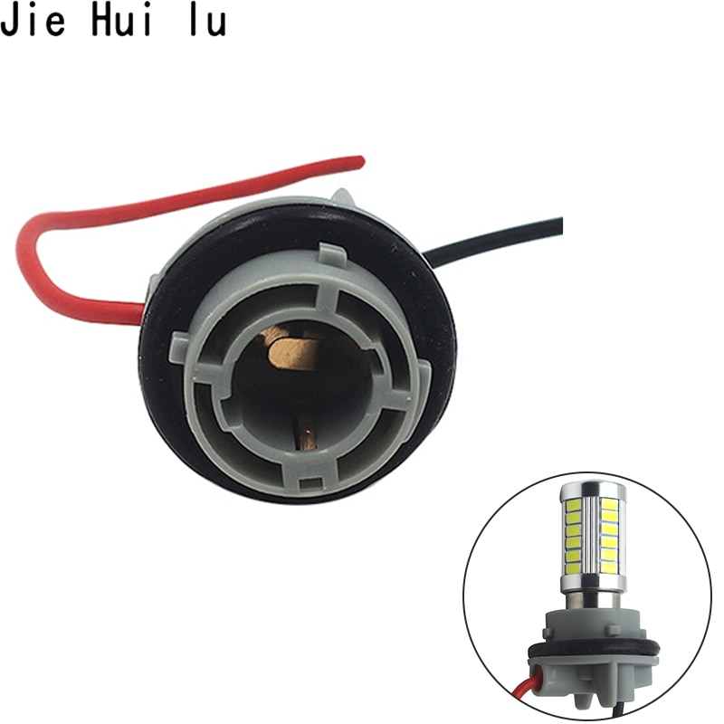 1 pçs led t20/1156/1157 ba15s bau15s 7440 7443 3157 3156 base de soquete lâmpada do carro luz soquete adaptador conector plug titular
