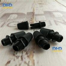 1000 teile/paket pendelleuchte draht kabel kunststoff kabel grips black farbe 007 Zugentlastung schnurgriffe