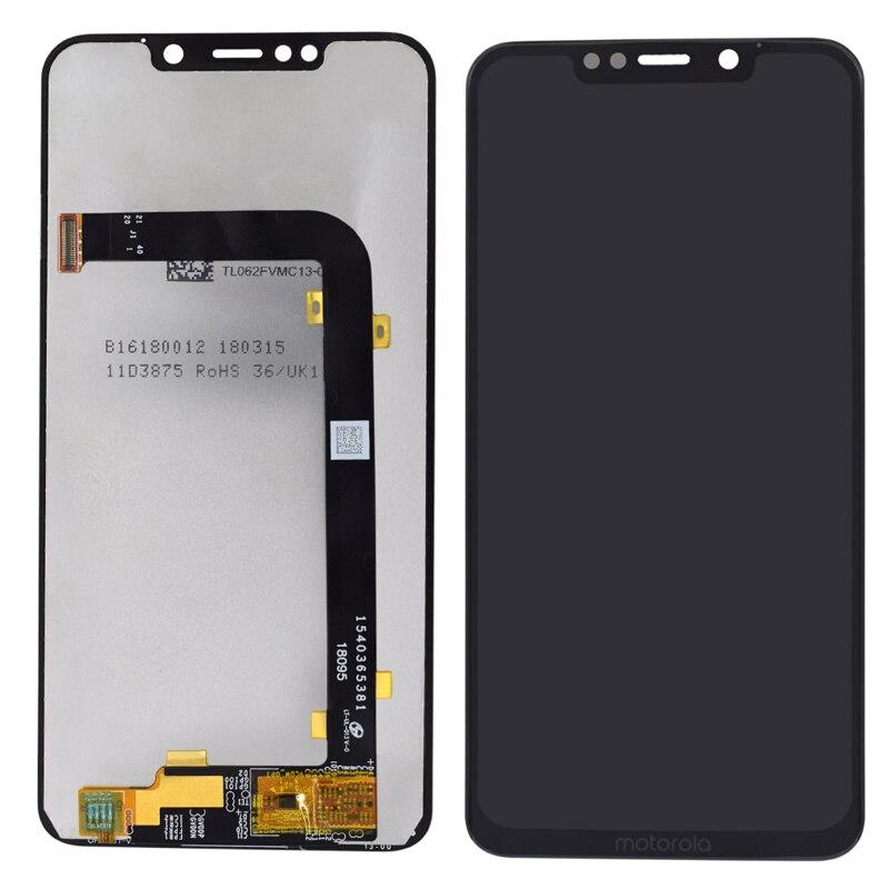 Para Motorola un poder pantalla LCD para Moto P30 nota XT1942-1 XT1942-2 Panel táctil Pantalla de Cristal digitalizador Asamblea reemplazo