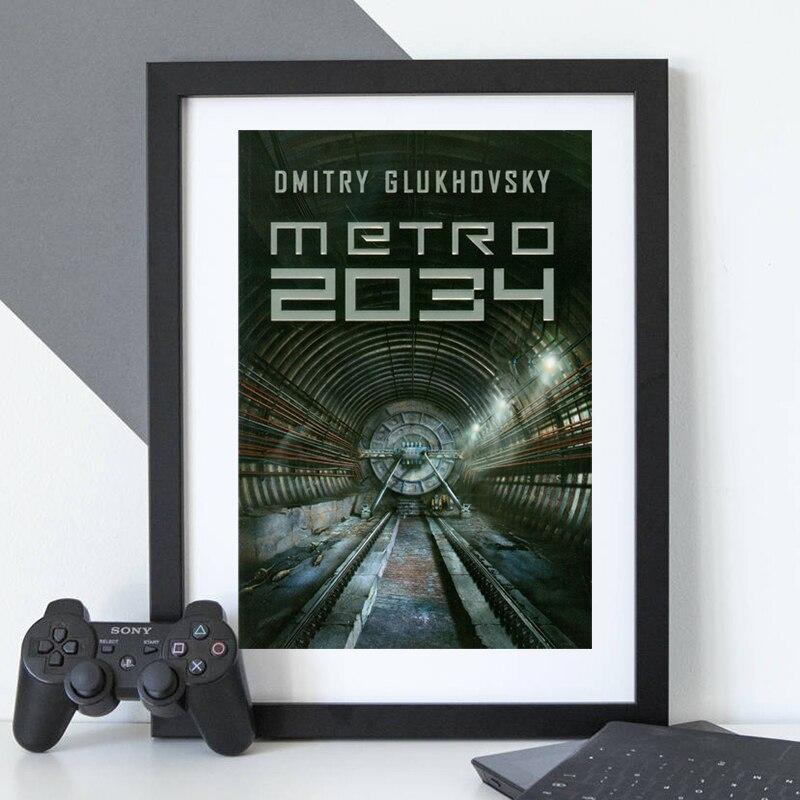 Metro 2034 pósteres juego lienzo cuadros obras de arte última luz remix en vapor impresiones en pared arte imagen para la decoración del hogar de la sala de estar