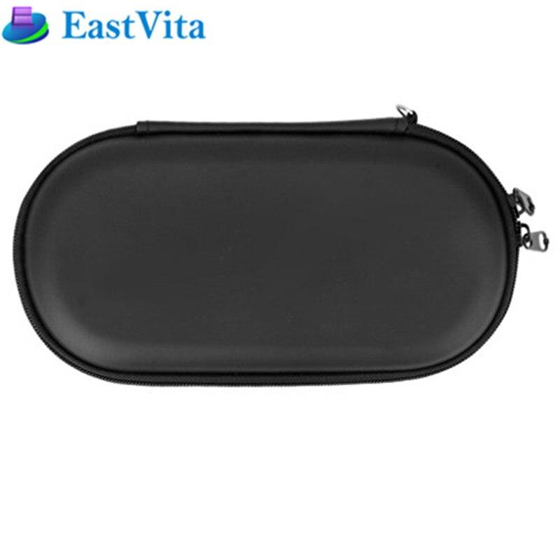 EastVita protector negro duro de viaje de la cáscara de la caja de la cubierta bolsa para PS Vita PSV PCH-2000 r29