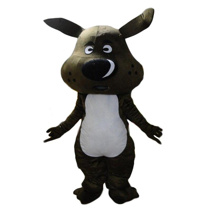 Новейший Высококачественный очаровательный костюм для черной собаки собачий щенок с большим черным сияющим носом Праздничная специальная...