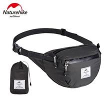 NatureHike Waist Pack Outdoor Travel Shoulder Bags Waterproof Folding Hiking Running Sports Mini Waist Bag Pouch Pack NH18B300-B