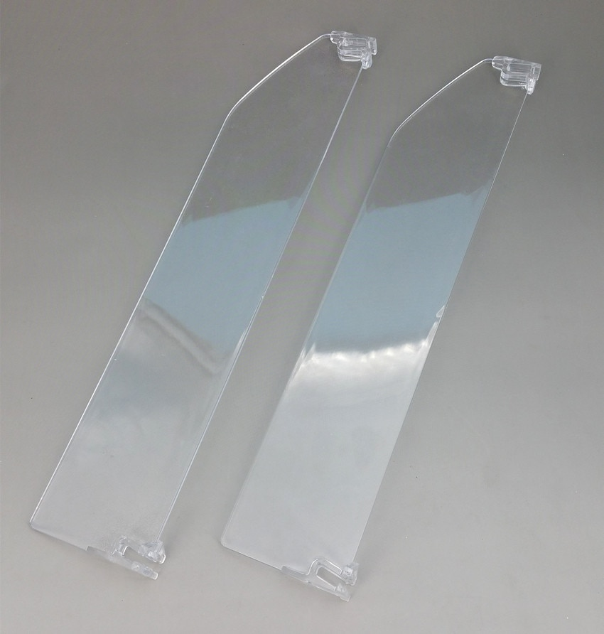 Plastic Supermarket Retail Shelf PS Transparent Dividers L 336mm Matched With Pushing System And Rails Available 200pcs