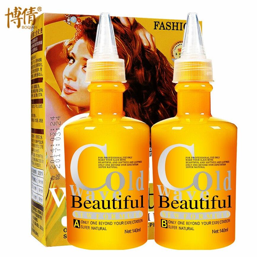 Orgánica Digital permanente rizo rizado crema permanente líquido frío de la onda pelo permanente loción solución resistente al cabello Natural