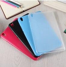 TPU de lujo Ultra delgado impermeable suave de silicona de goma de silicona cubierta de la carcasa para Huawei Honor Tablet 2 T2 8,0 Pro JDN-W09 AL00