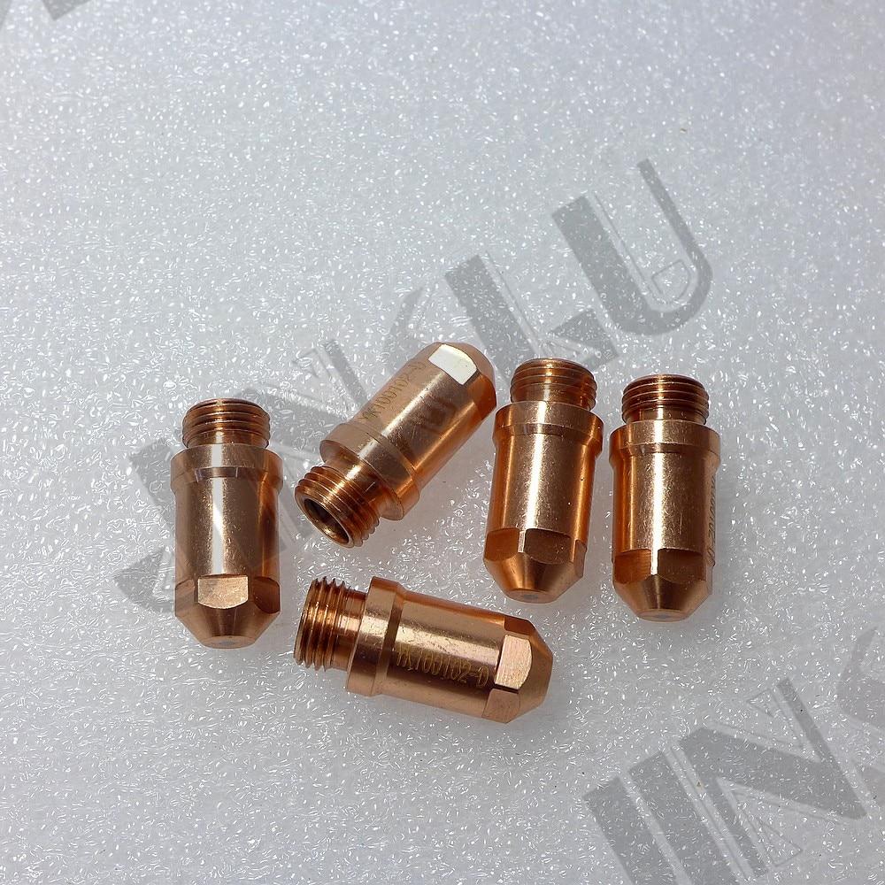 Electrodo 100 ajuste YGX-100 YK-100 YK 100A YGX 100101 Huayuan antorcha de corte por Plasma LGK-100 LGK-120 YK100101-2-D