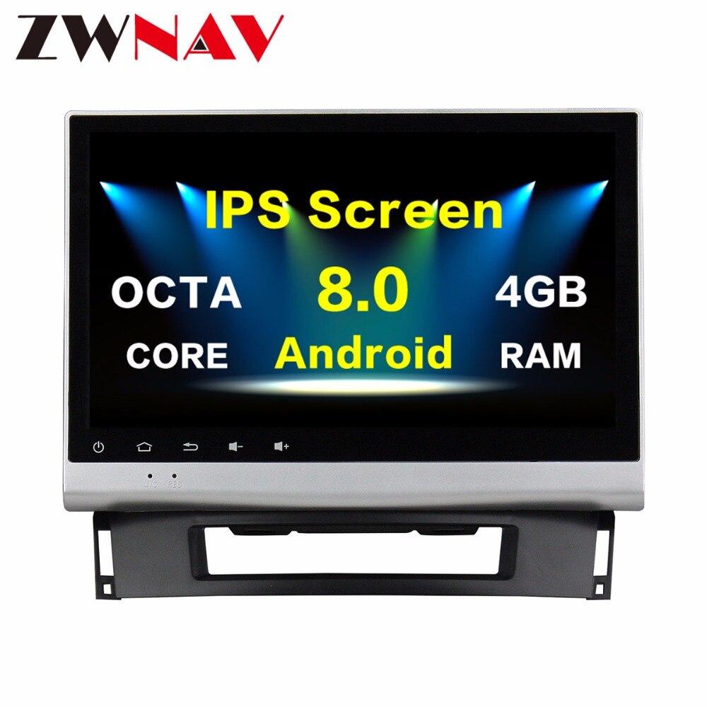 Reproductor multimedia para coche con Android 8,0, pantalla IPS de 4 + 32G, unidad principal para Opel Astra J 2011-2014, con navegación GPS, Radio estéreo para coche